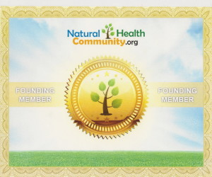 Natural Health Community Founding Member